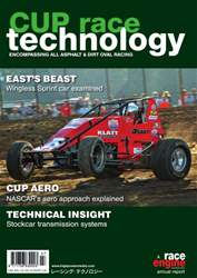 CUP Race Technology issue Volume 7 - March 2016