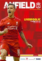 Liverpool FC Programmes issue Liverpool v Stoke City 201516