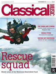 Classical Music issue Classical Music 19th Nov 2011