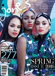 Jones Magazine issue Best In Beaty Spring 2016 Issue #25