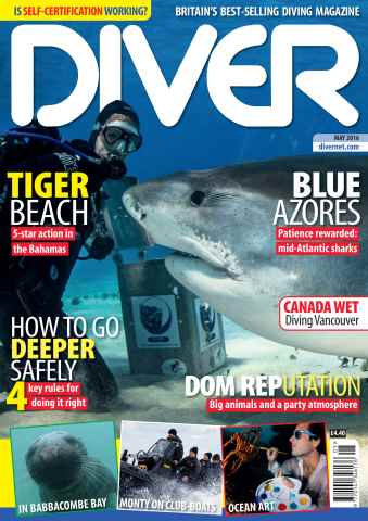 DIVER issue MAY 2016