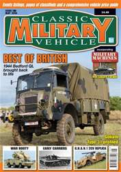 Classic Military Vehicle issue May 2016