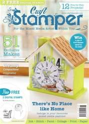 Craft Stamper issue June 2016