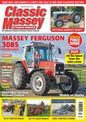 Classic Massey issue No. 62 Massey Ferguson 3085