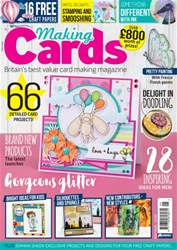 Making Cards issue May 2016