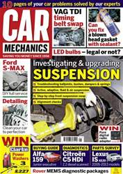 Car Mechanics issue May 2016