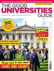 Independent School Parent issue The Good Universities Guide Spring 2016