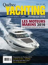 Quebec Yachting issue Printemps 2016