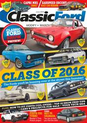Classic Ford issue No. 238 Class of 2016