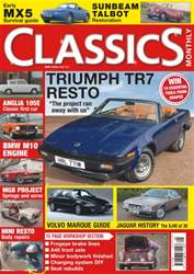 Classics Monthly issue No. 242 Triumph TR7 Resto