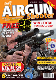 Airgun Shooter issue April 2010