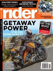 Rider Magazine issue June 2016