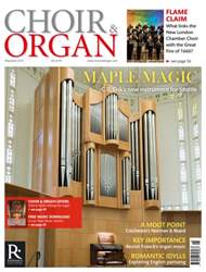 Choir & Organ issue May - June 2016