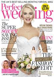 Perfect Wedding issue May 2016