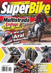 SuperBike South Africa issue May 2016