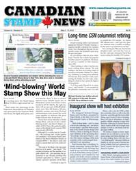 Canadian Stamp News issue V41#01 - May 3