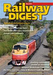 Railway Digest issue May 2016
