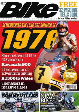 Bike issue June 2016