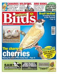 Cage & Aviary Birds issue No. 5902 The Charm Of Cherries