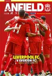 Liverpool FC Programmes issue Liverpool v Everton