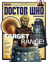Doctor Who Magazine issue 499