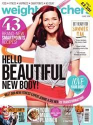 Weight Watchers magazine UK issue June 2016