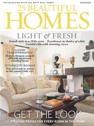 25 Beautiful Homes issue June 2016