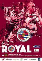 Reading FC Official Programmes issue 27 v Hull City (15-16)