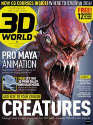 3D World issue June 2016