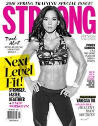 Strong Fitness issue May / June 2016