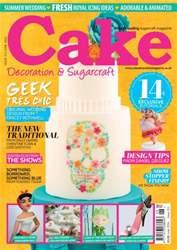 Cake Decoration & Sugarcraft Magazine issue June 2016