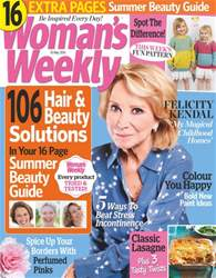 Womans Weekly issue 10th May 2016