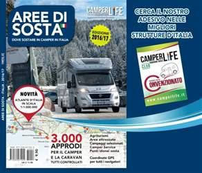 CAMPER LIFE issue Guida Aree di Sosta  Italia 2016