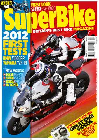 Superbike Magazine issue January 2012
