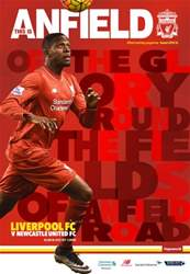 Liverpool FC Programmes issue Newcastle 201516