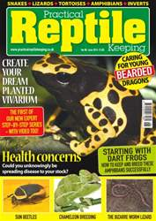 Practical Reptile Keeping issue No. 88 Health Concerns