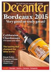 Decanter issue June 2016
