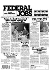 Federal Jobs Digest issue Federal Jobs Digest Vol.43 #9