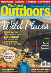 TGO - The Great Outdoors Magazine issue Spring 2016