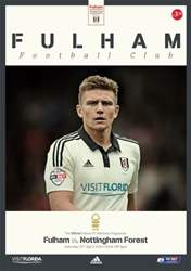 Fulham FC issue Fulham v N'Forest 2015-16