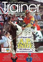 North American Trainer Magazine - horse racing issue Issue 40 – May 2016-July 2016