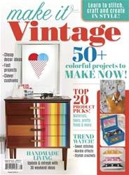 Romantic Homes issue Make It Vintage Summer 2016