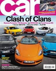 CAR magazine Italia issue OTTANTA