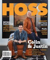 HOSS Magazine issue The Cottage Issue (May/June 2016)