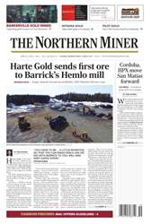 The Northern Miner issue Vol. 102 No. 11