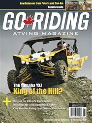 Go Riding ATVing Magazine issue May 2016