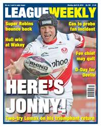 League Weekly issue Issue 720 - April 25
