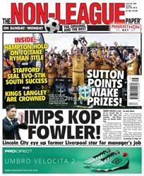 The Non-League Football Paper issue 24 April 2016