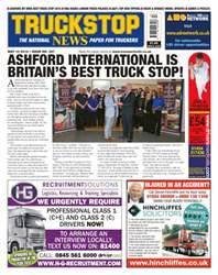 Truckstop News issue No. 367 Ashford International Is Britain's Best Truck Stop!