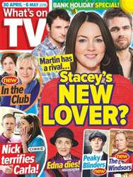 What's on TV issue 30th April 2016